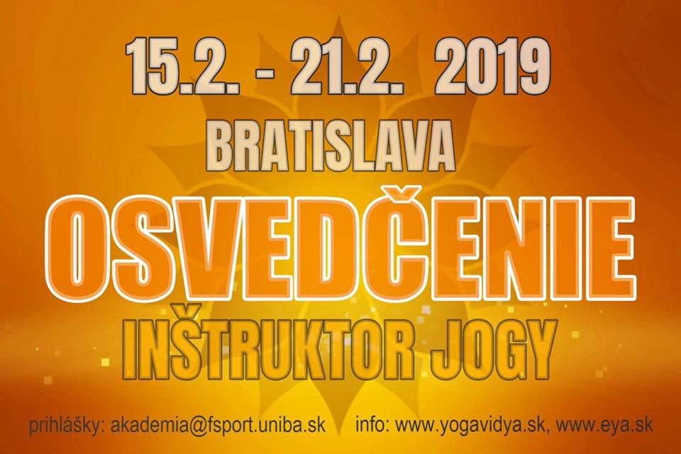 Intenzívny kurz inštruktorov jogy