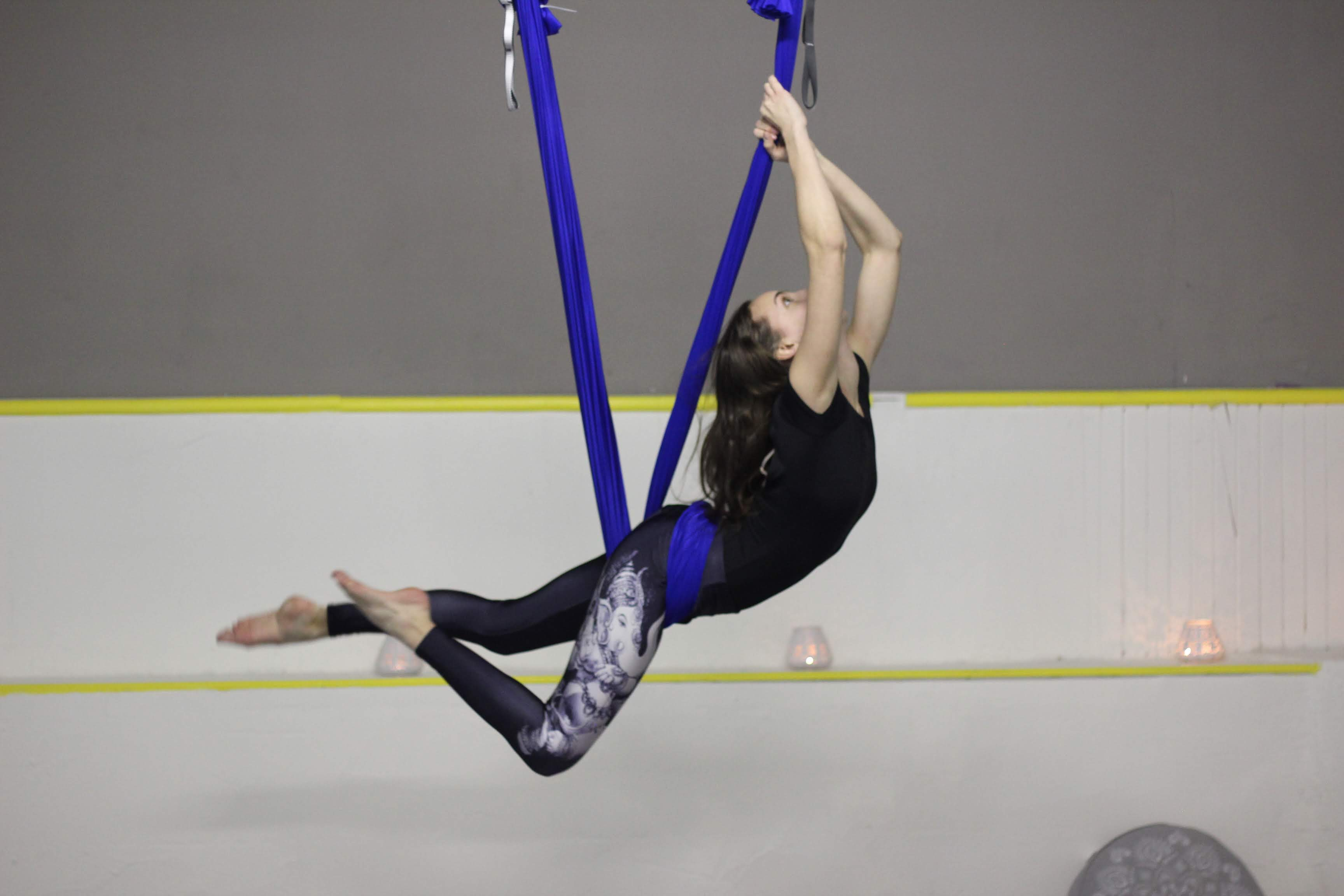 Letecké dni – fly joga