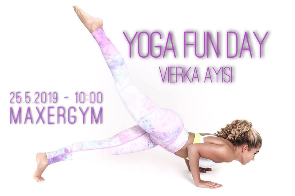Maxergym Yoga Fun Day – Vierka Ayisi