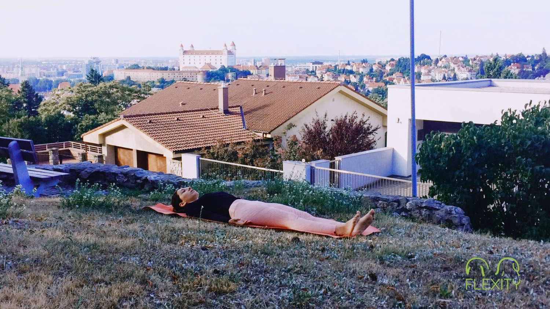 jóga pihenés